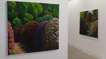 Contemporary art exhibition, Karl Maughan, Karl Maughan at Page Galleries, Wellington