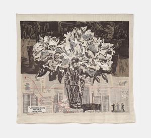 Peonies by William Kentridge contemporary artwork