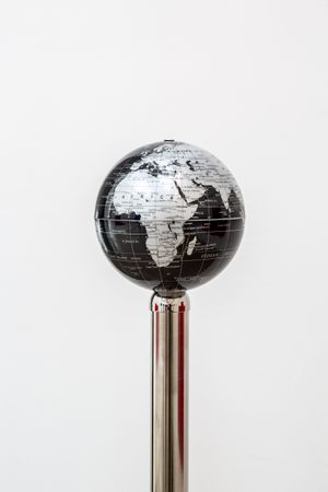Timeless Symbols (Globe) by Andrew J. Greene contemporary artwork sculpture