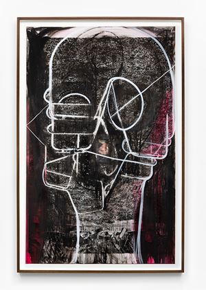 Untitled by Huma Bhabha contemporary artwork