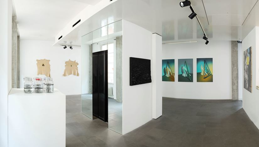 Exhibition view: Group Exhibition, Collective Exhibition, A2Z Art Gallery, Paris (19 December 2019–11 January 2020). CourtesyA2Z Art Gallery.