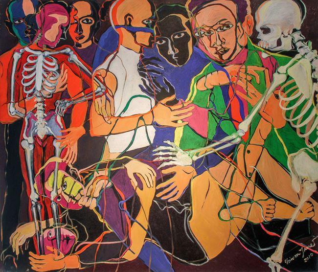 Samsara B by Sriwan Janehuttakarnkit contemporary artwork