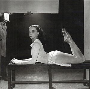 Leslie Caron by Walter Carone contemporary artwork