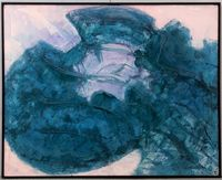 Fudou No.5 by Tadashi Sugimata contemporary artwork painting, works on paper