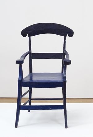 Gauguins's Chair by Bob Law contemporary artwork