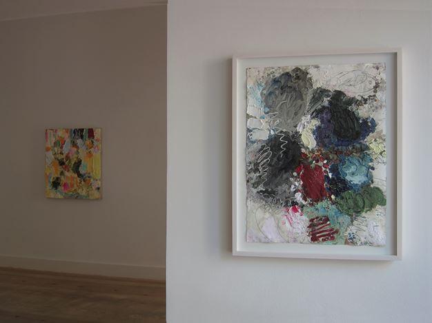 Exhibition view: Michael Toenges, New Work,Galerie Albrecht, Berlin (31 July–5 September 2020). Courtesy Galerie Albrecht.