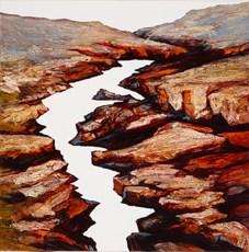 Serrated Gorge by Neil Frazer contemporary artwork
