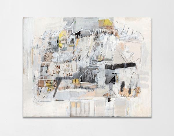 Sarah Grilo, El número uno(1986). Oil on canvas. 114 x 146 cm. ©SarahGrilo. Courtesy Galerie Lelong & Co.
