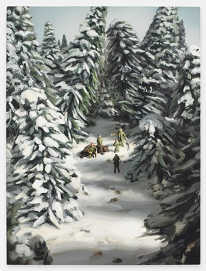 Bear Hunt by Amy Bennett contemporary artwork