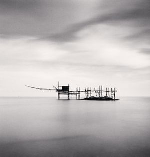 Trabocco Punta Aderci Study 2 by Michael Kenna contemporary artwork