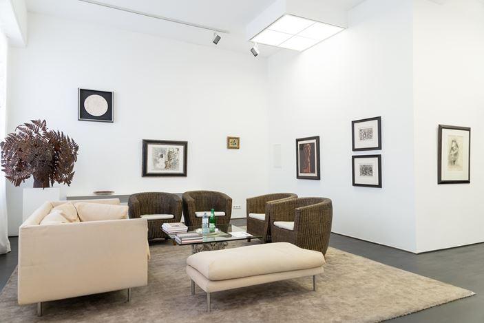 Exhibition view: Group Exhibition, Pablo Picasso and two sculptures by Manolo Valdes,Beck & Eggeling, Düsseldorf (8 April–6 June 2020). Courtesy Beck & Eggeling Fine Art.