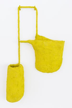 Air Pocket (yellow) by Olivia BaX contemporary artwork