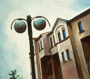 At the Door by Liu Weijian contemporary artwork