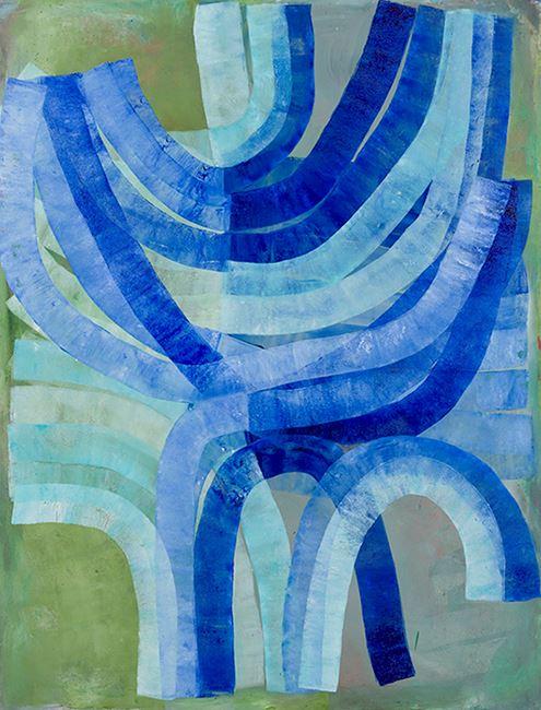 Hanukkah by Ildiko Kovacs contemporary artwork