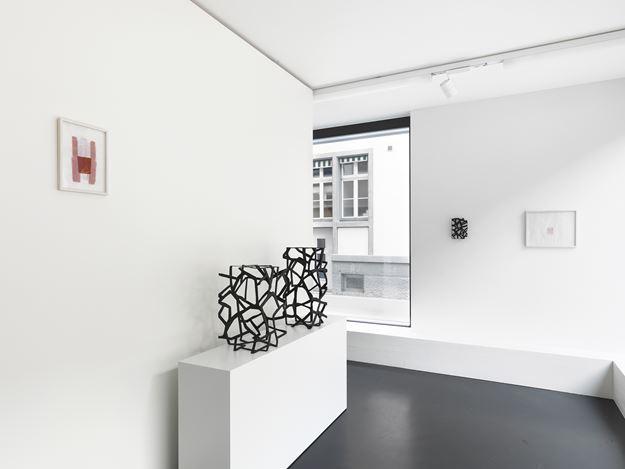 Exhibition view: Susan Hefuna, Gebilde, Anne Mosseri-Marlio Galerie, Basel (7 September–11 October 2019). CourtesyAnne Mosseri-Marlio Galerie.