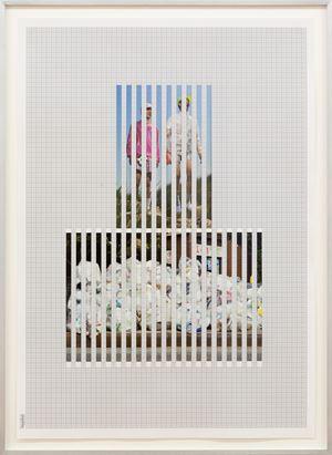 Discrete Model 048 by Goshka Macuga contemporary artwork