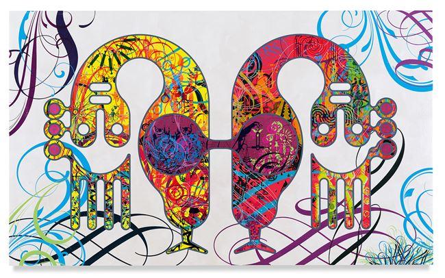 Mindscape 66 by Ryan McGinness contemporary artwork