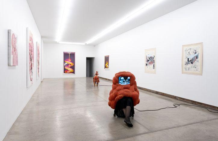 Exhibition view: Seemingly Playful, Yavuz Gallery, Sydney (29 July–21 August 2021). Courtesy Yavuz Gallery.