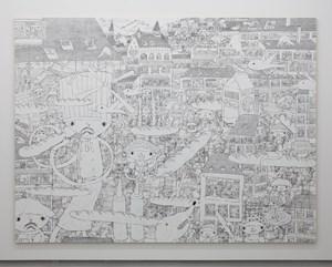 City of Breakfast by Shintaro Miyake contemporary artwork