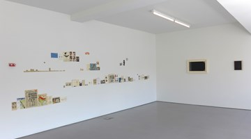 Contemporary art exhibition, Patrick Pound, Brought to Book at Hamish McKay, Wellington