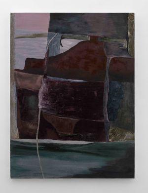 Monica's Ship by Biraaj Dodiya contemporary artwork painting