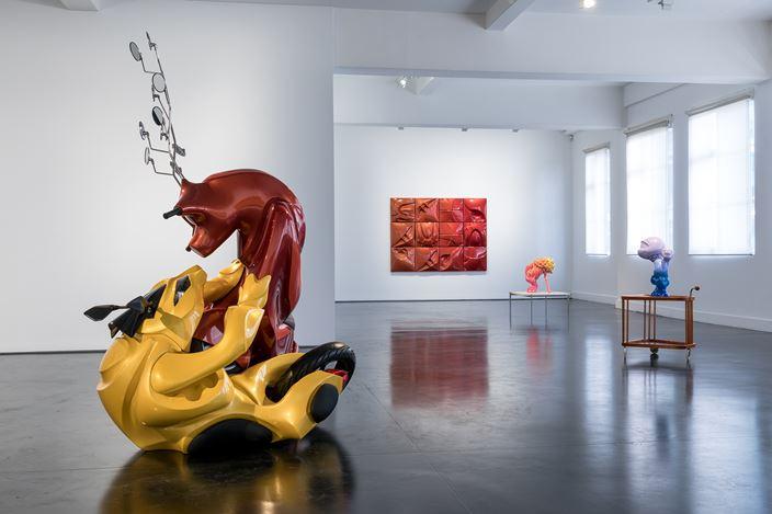 Exhibition view: Patricia Piccinini, Chromatic Balance, Tolarno Galleries, Melbourne (16 November–14 December 2019). Courtesy Tolarno Galleries.