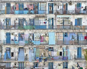 Alger – Bab El Oued – Melting Point n°10 by Stéphane Couturier contemporary artwork