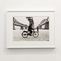 Hangang River, Seoul, Korea 1956-1963 by Han Youngsoo contemporary artwork photography, print