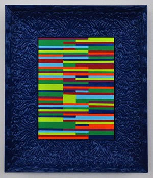 satisfaction in order by Emma Coulter contemporary artwork