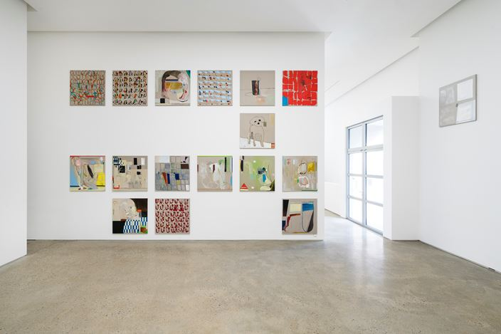 Exhibition view:Bek Hyunjin,Work Song: Soil, Mattress and Waves, PKM Gallery, Seoul (15 February–31 March 2019). Courtesy the artist and PKM Gallery.
