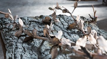 Contemporary art exhibition, Giuseppe Penone, Foglie di bronzo / Leaves of Bronze at Gagosian, San Francisco