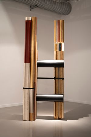Slanted Representation by Usha Seejarim contemporary artwork