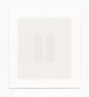 Thread Drawing 2012-19 by Hadi Tabatabai contemporary artwork