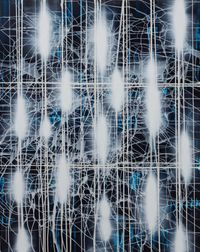 Spacetime by Mark Francis contemporary artwork painting