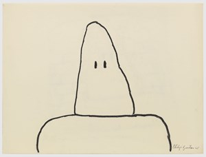 Untitled by Philip Guston contemporary artwork works on paper