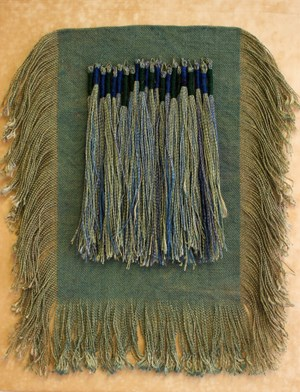 Fringe on Silk #3 by Emma Fitts contemporary artwork