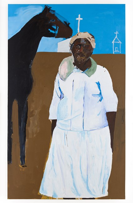 Everyone's Momma by Henry Taylor contemporary artwork