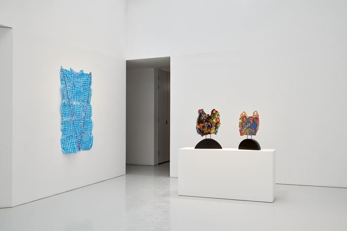 Exhibition view: J Blackwell, R.O.I/ J.O.M.O., Kate MacGarry, London (11 January–8 February 2020). Courtesy Kate MacGarry. Photo: Robert Glowacki.