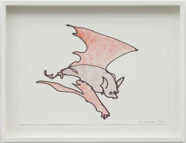 Bat II, Reading Dante by Joan Jonas contemporary artwork