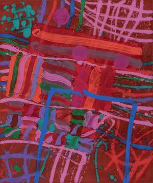 Prima I by Albert Irvin contemporary artwork