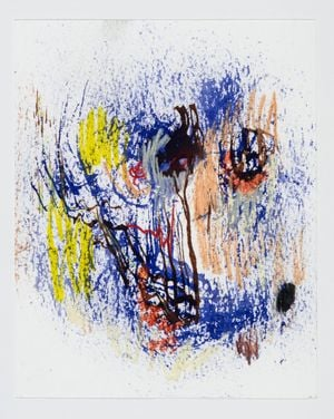 Le Fumeur by Manuel Mathieu contemporary artwork