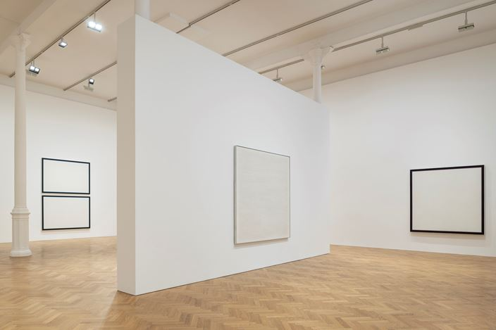 Exhibition view: Group Exhibition, At the Edge of Things: Baer, Corse, Martin,Pace Gallery, London (7 June–14 August 2019). Courtesy Pace Gallery.