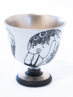 Cup_Flamingo by Masako Inoue contemporary artwork sculpture, ceramics