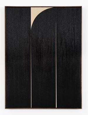 Black #1 by Johnny Abrahams contemporary artwork