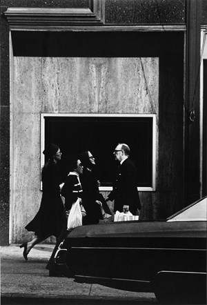 On Fifth Avenue by Louis Stettner contemporary artwork