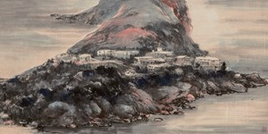 Shek-O by Lui Shou-Kwan contemporary artwork