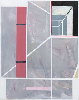 miRRoR painting 3 by Simon Blau contemporary artwork