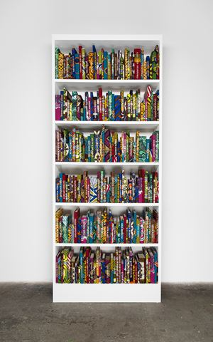 The African Library Collection: Writers by Yinka Shonibare CBE (RA) contemporary artwork