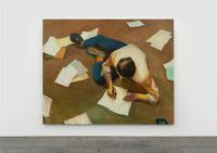 Writing is Useless by Zhai Liang contemporary artwork painting, works on paper