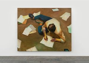 Writing is Useless by Zhai Liang contemporary artwork